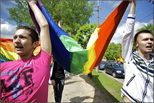 """Slavic Pride""  ""Gay Belarus"""