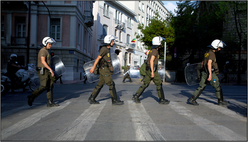 Athens Pride, Gay Pride, Greece, Riot Police, Human Rights