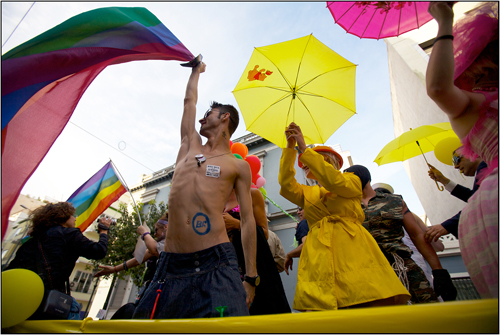 Athens Pride, Walk With Pride, Gay Rights, Athens Greece
